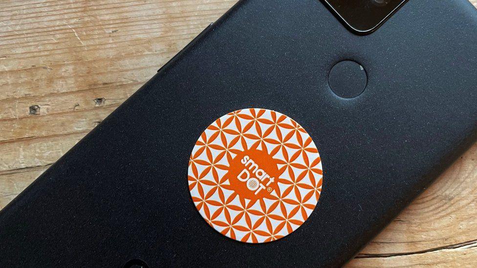 'Anti-radiation' phone stickers still sold on Amazon thumbnail
