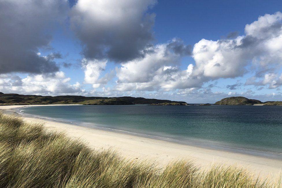 Reef Beach on the Isle of Lewis