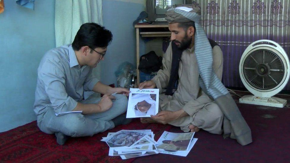 An Afghan man describes a raid on his home