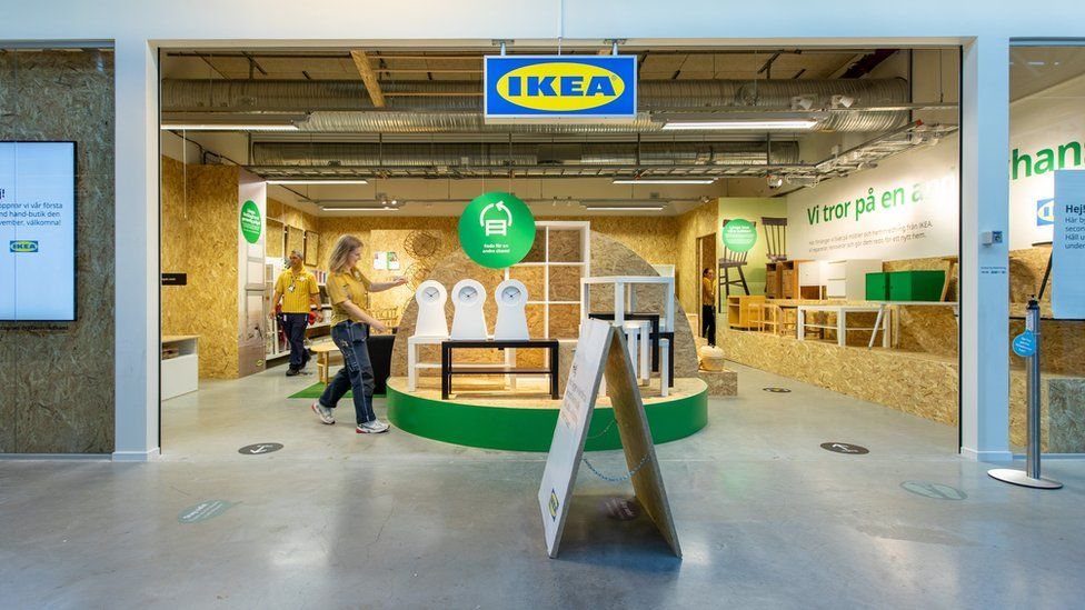 Ikea's pop-up second-hand store