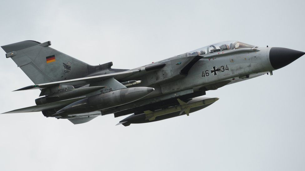 German Tornado jet (file pic)