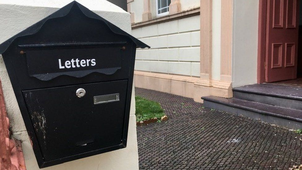 The chapel letterbox