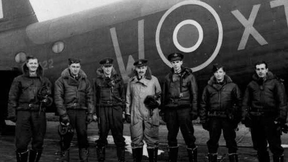 WW2 plane found submerged in Netherlands lake