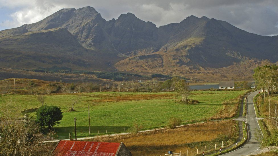 Mountains on the Isle of Skye