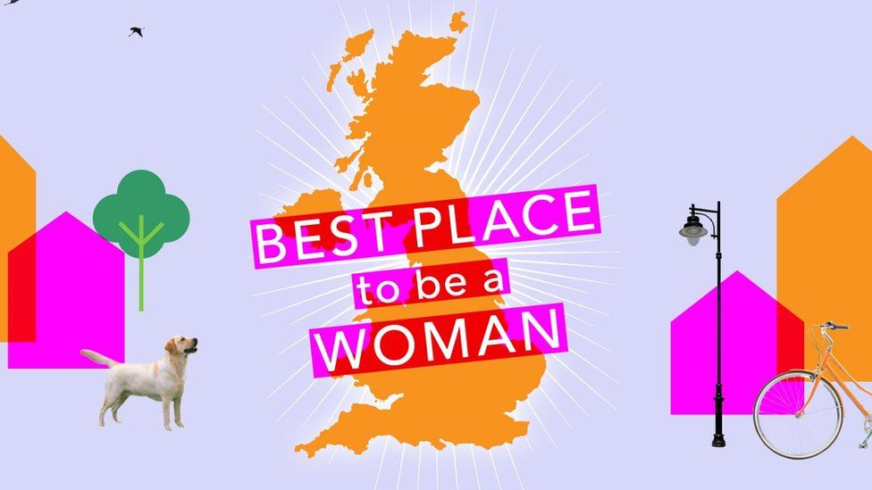 best place to be a woman graphic