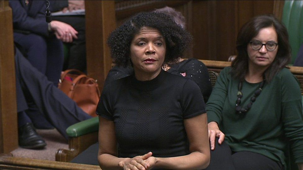 Chi Onwurah speaks in Parliament