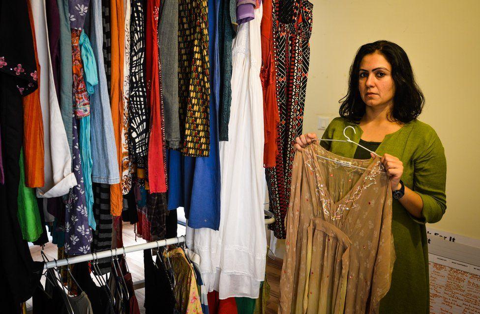Jasmeen Patheja in the Museum of garments