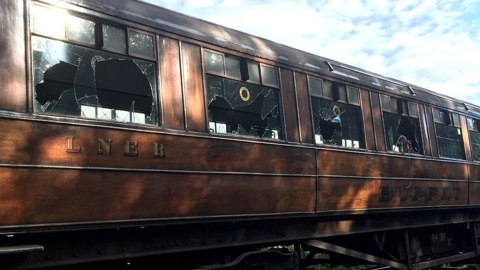 Train damage