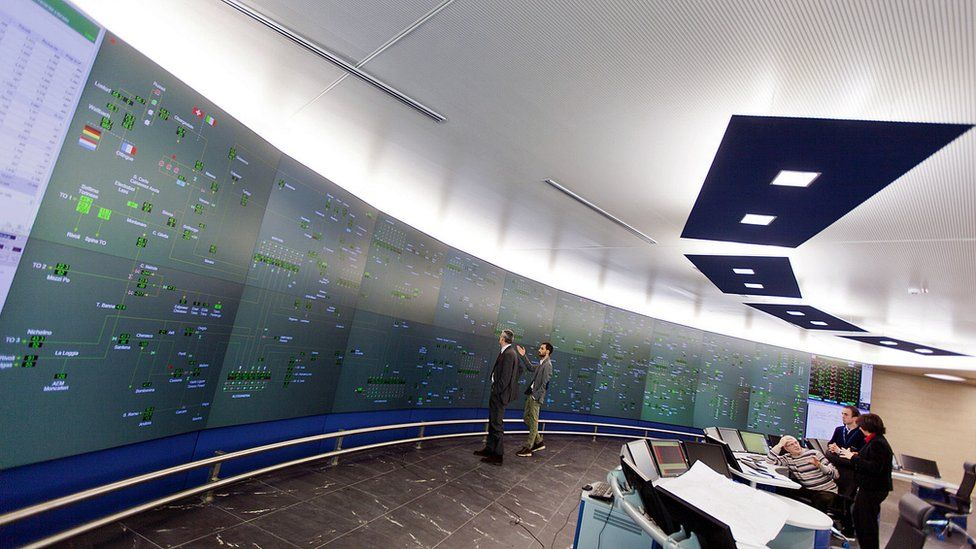 Snam energy network - dispatching centre