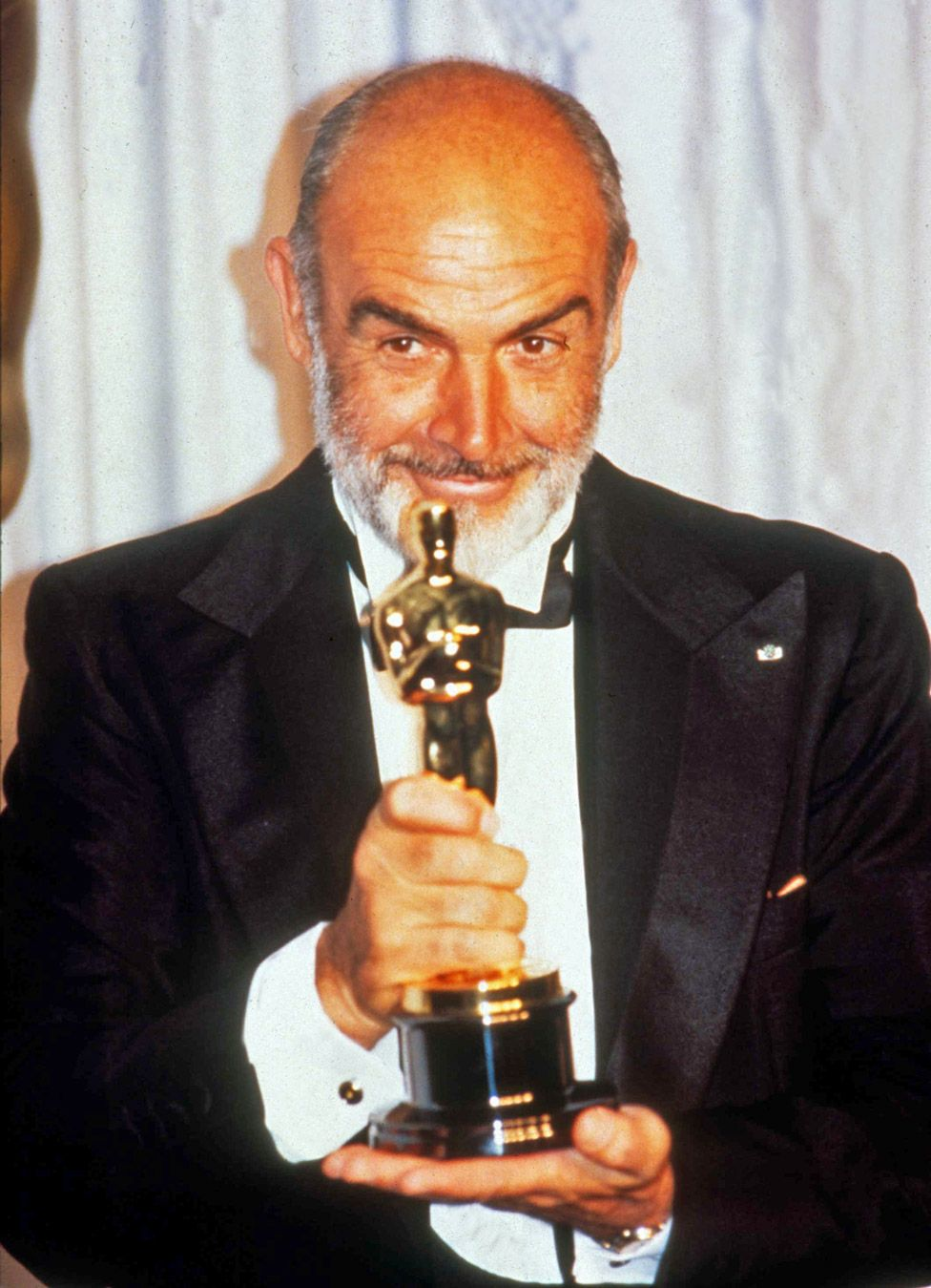 Sean Connery at the 1988 Oscars