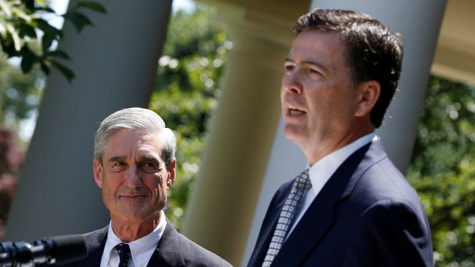 Robert Mueller and James Comey - 2013 photo