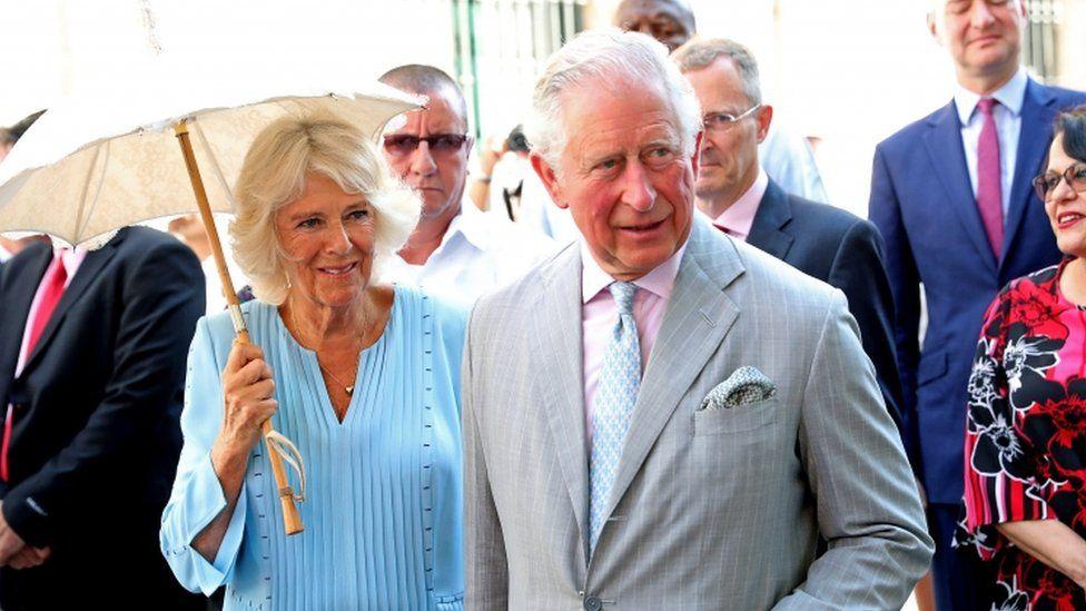 Duchess and Duke of Cornwall