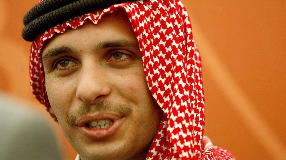 Former Crown Prince Hamzah bin Hussein pictured in 2004