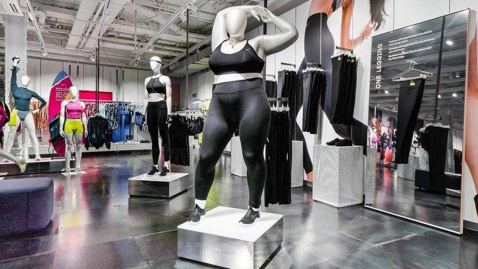 Nike plus-size models