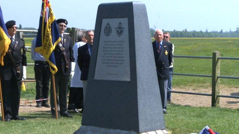 Wolvercote WW1 Aerodrome Memorial