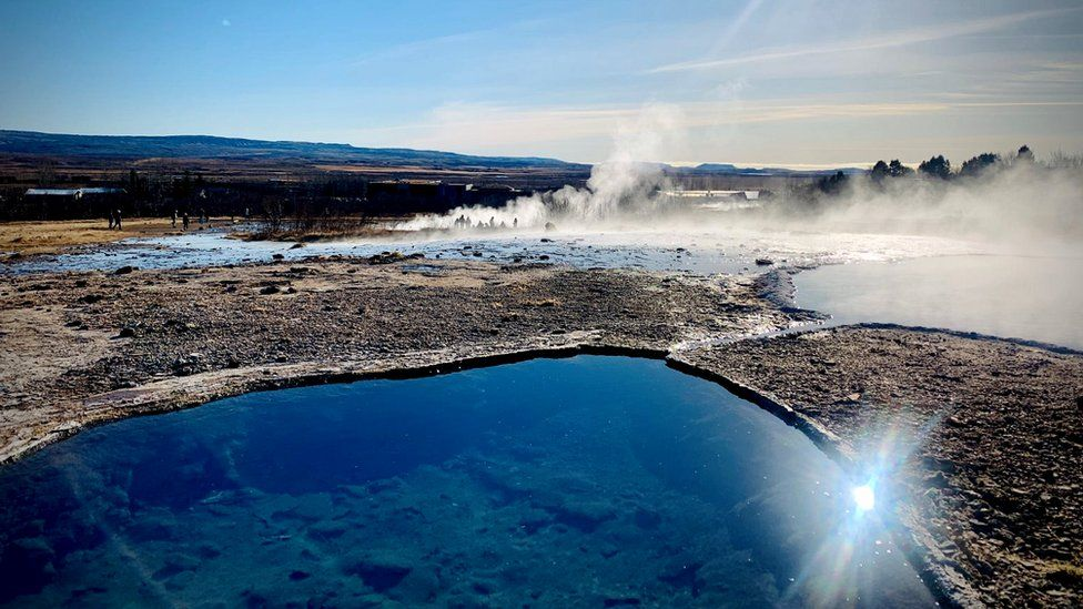 Iceland's hot springs are a big draw for international tourists