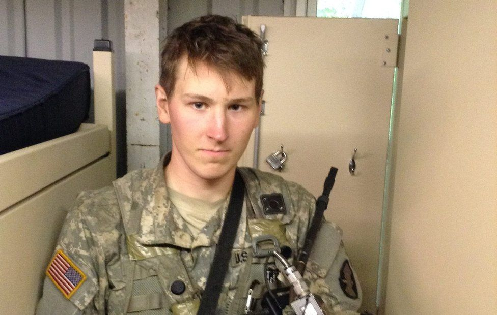 Riley Dosh graduated from West Point in May but won't be able to serve
