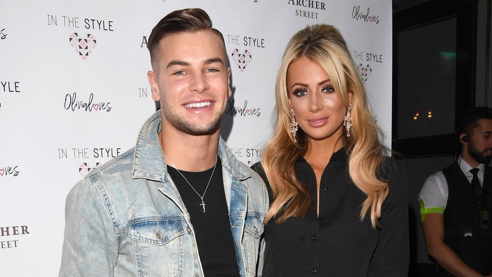 Chris Hughes and Olivia Attwood