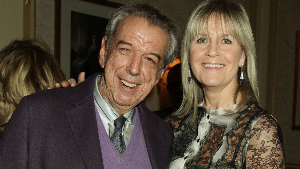 Rod Temperton and wife Kathy in 2012