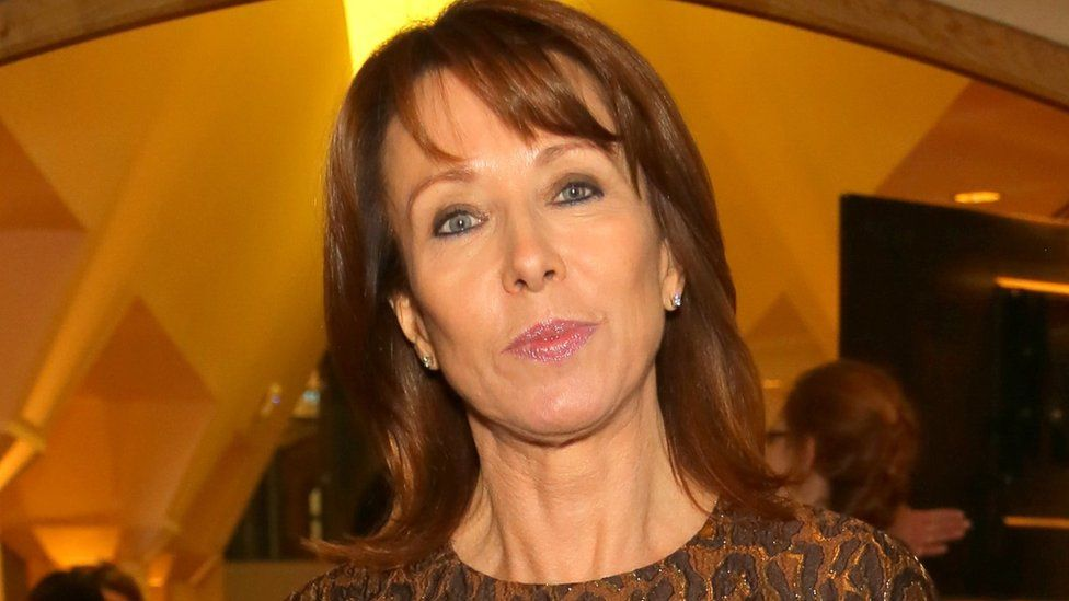 Kay Burley:Taking the piss..  _115969390_burley2_getty