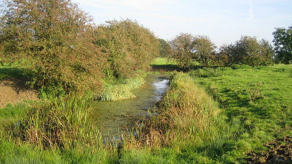 A deserted medieval village lies in the grounds of Doddershall House along with ancient ponds and moats