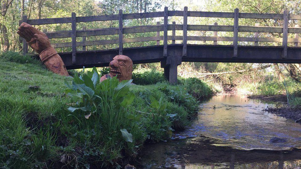 Carsington Water Derbyshire sculpture trail