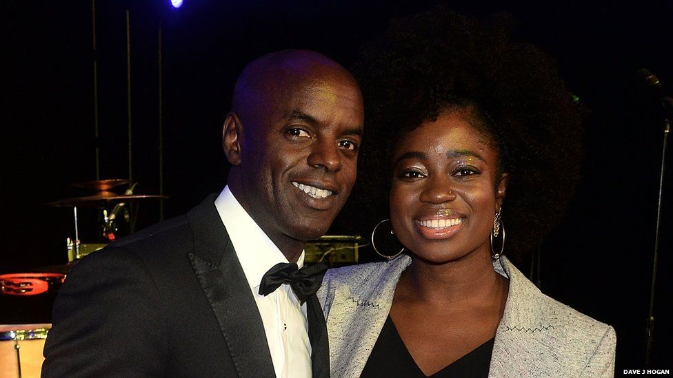Trevor Nelson and Clara Amfo, who hosted the Amy Winehouse Foundation Gala