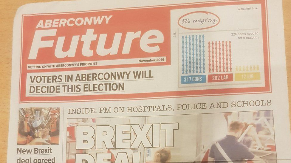 'Aberconwy Future' leaflet produced by the Conservative Party
