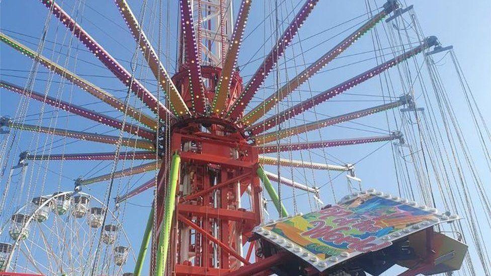 The swing ride