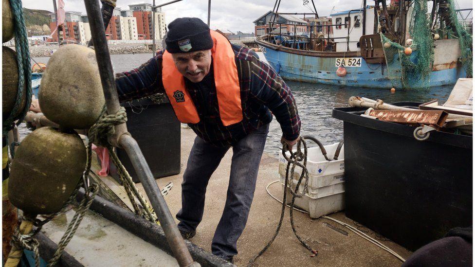 Kevin Denman of The Welsh Fishermen's Association