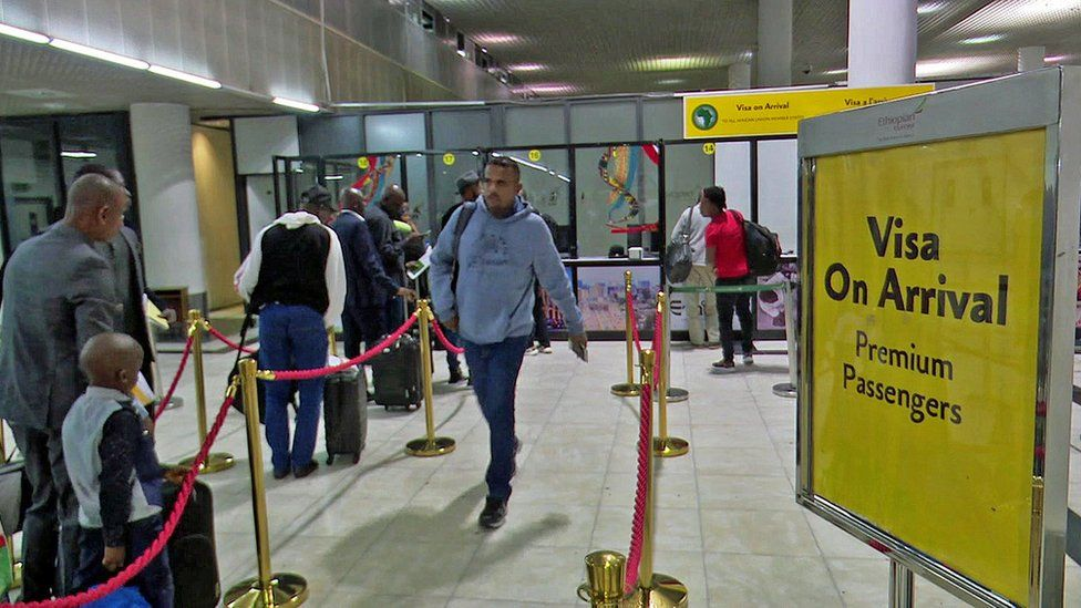 Travellers are now issued visas on arrival when they visit Ethiopia