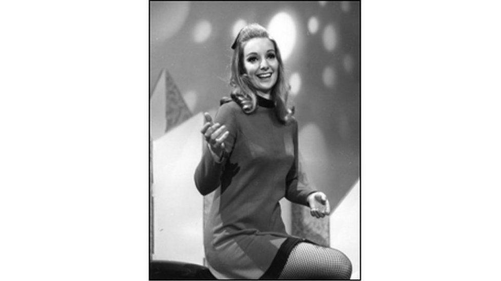 Heulwen Haf yn cystadlu yn 1969