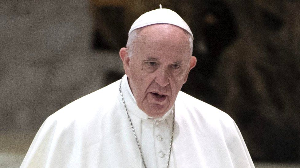 Pope Francis at his weekly general audience in the Paolo VI Hall at the Vatican, 6 February 2019