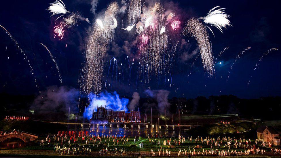 Fireworks at Kynren