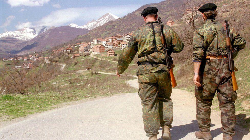 Ethnic Albanian rebels
