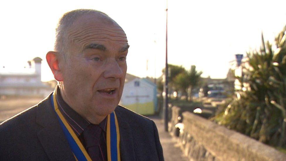 Felixstowe mayor