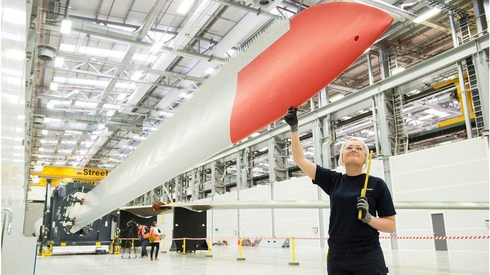 Siemens Gamesa turbine plant