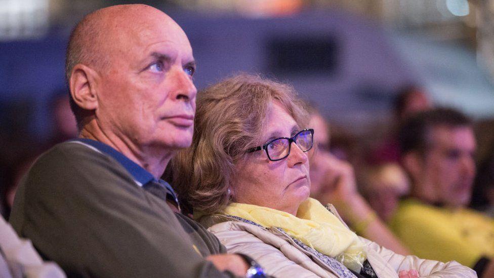 Claudio and Paola Regeni, parents of Giulio Regeni in 2018