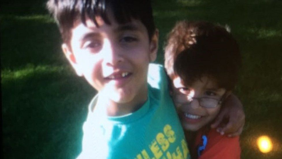Asad Khan and his brother Saad