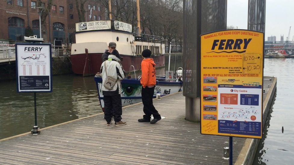 Ferry boat timetables