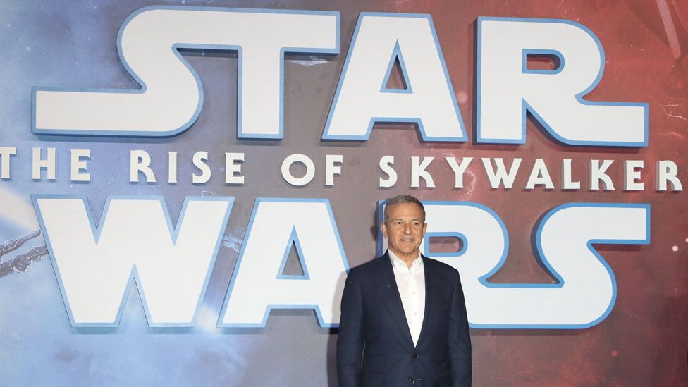 Bob Iger at the European premiere of Star Wars: The Rise of Skywalker