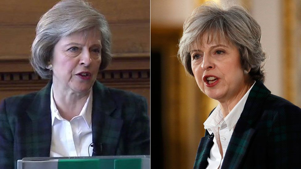 Theresa May composite