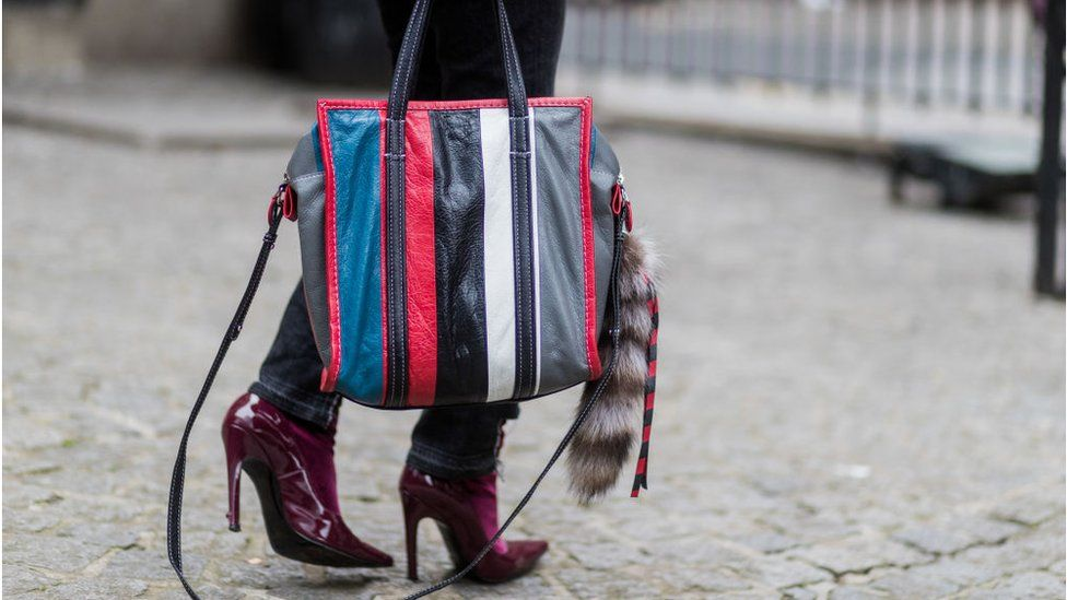 Fashion bag with foxtail (file photo)