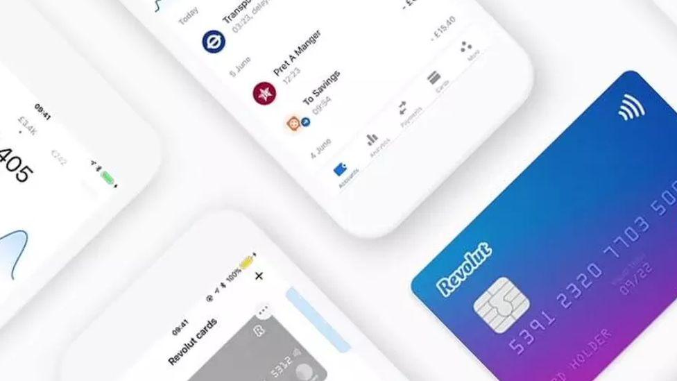 Revolut card and app