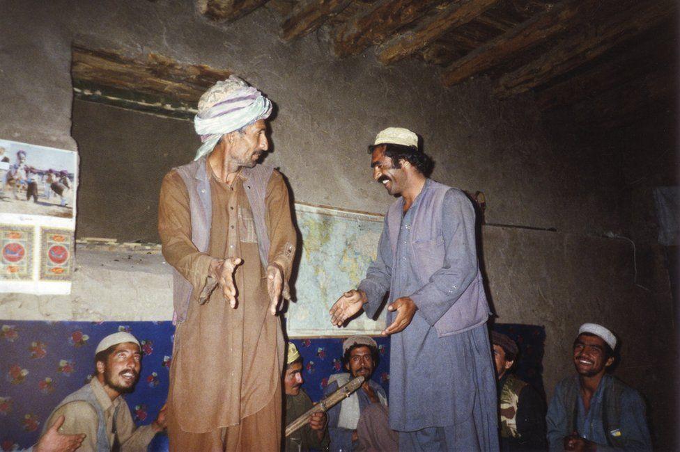 Members of the Mujahideen in Afghanistan in 1988