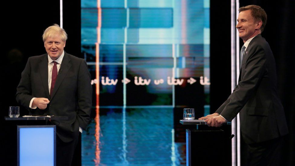 The Conservative leadership debate