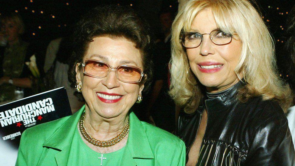 nancy senior (L) and nancy junior