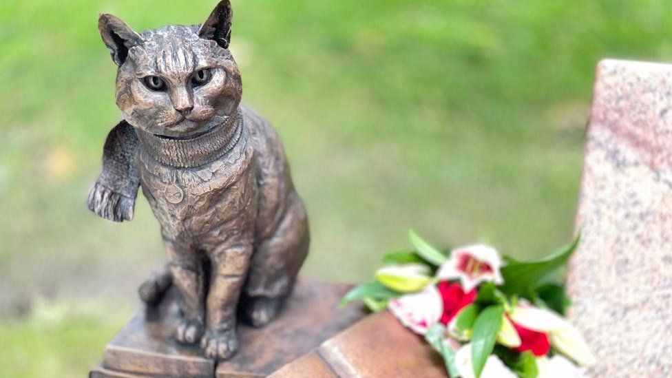 Street Cat Bob: Statue unveiled to animal that inspired books and films -  BBC News