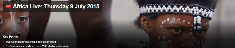 Africa Live screengrab