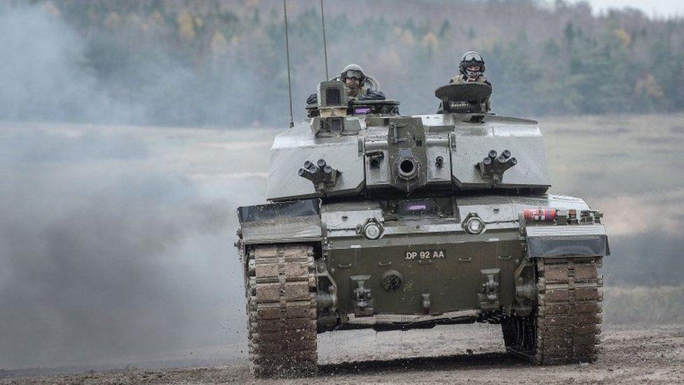 British army armoured vehicle